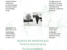 NORTH BY NORTHEAST. PAVILJONA DEKONSTRUKCIJA
