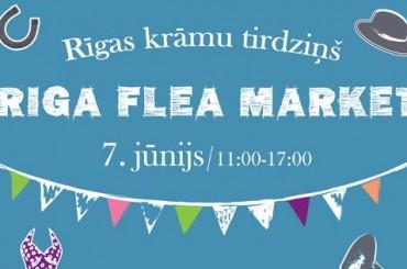 Pirmais Rīgas krāmu tirdziņš Spīķeros jau 7.jūnijā