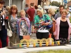 Прошел праздник города Риги в Квартале Спикери