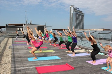 Spikeri invites you to open- air Yoga
