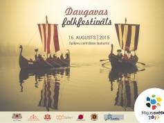 Rīgas svētkos notiks Daugavas folkfestivāls