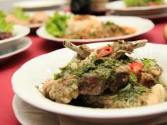Pusdienu piedāvājums restorānā PIROSMANI Spīķeros
