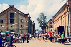 Rīgas krāmu tirgus Spīķeros