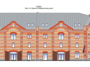 Офисное здание по улице Маскавас 8