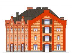 Biroju ēka Maskavas ielā 8