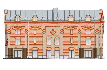 Biroju ēka Maskavas ielā 12k-4