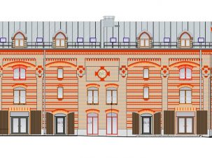 Офисное здание по улице Маскавас 12k-4