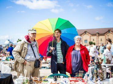 In August in Spikeri were held the first open air Retro fair