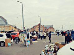 FOTO: Bagāžnieku tirgus Spīķeros