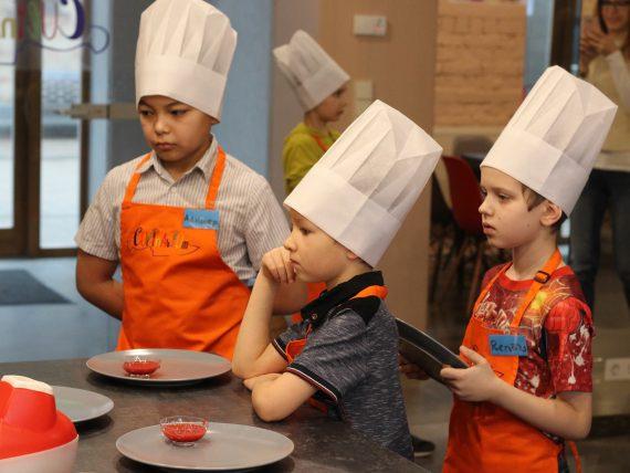 Bērnu kulinārijas meistarklase