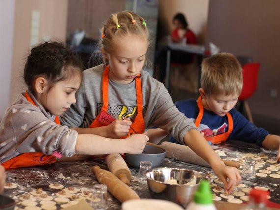 Kulinārijas meistarklase bērniem