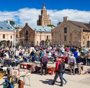 Барахолка Riga Flea Market 2018 пройдет в субботу, 5 мая