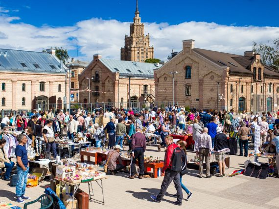 Барахолка Riga Flea Market 2018