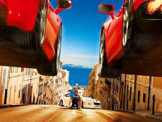 Brīvdabas kino vakaru atklāšana Spīķeros: filma Taxi 5