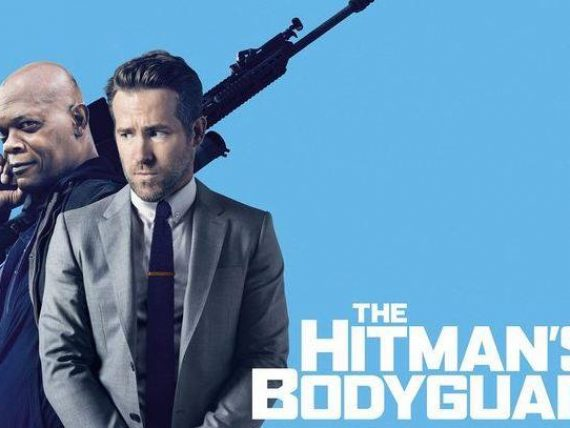 Spīķeru brīvdabas kino vakars: filma HITMAN'S BODYGUARD