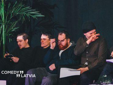 Comedy Latvia stand-up šovs Spīķeros