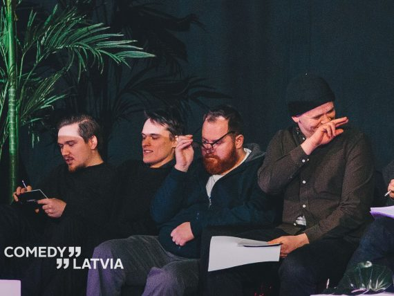 Comedy Latvia stand-up šovs Spīķeros