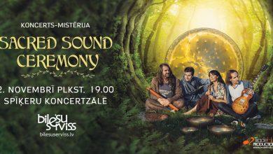 Sound Mystery no Lietuvas uzstāsies ar koncertu – mistēriju SACRED SOUND CEREMONY Spīķeru koncertzālē