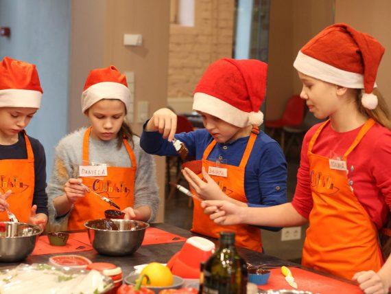 Jaungada kulinārijas meistarklase bērniem