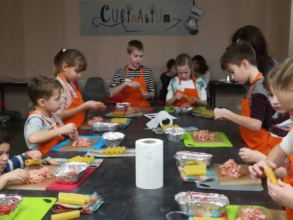 Suši meistarklase bērniem