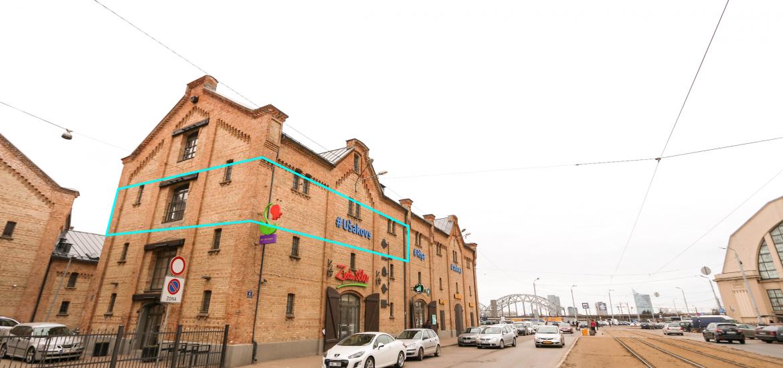 biroja telpas nomai Rīgas centrs Spīķeri