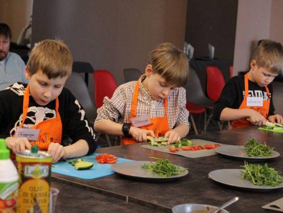 Garšīgā kulinārijas meistarklase bērniem