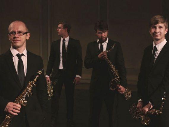 Džezā tikai saksofoni!