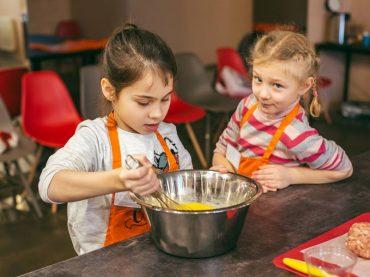 Kebabu un Rafaello kulinārijas meistarklase bērniem