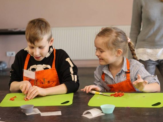 Hačapuri kulinārijas meistarklase bērniem