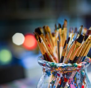 """Studija """"Perspektivart"""" aicina bērnus uz mākslas pulciņu"""