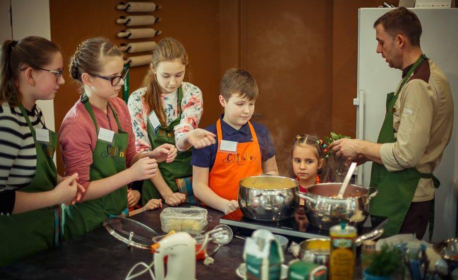 kulinārijas meistarklase bērniem no 6