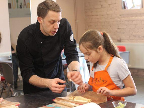 Французские булочки и тирамису. Мастер-класс для детей