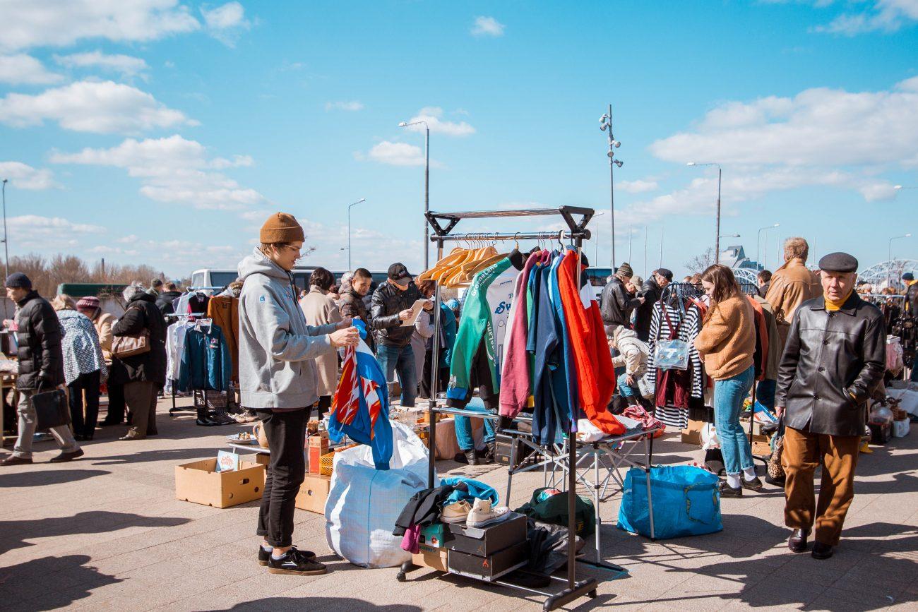 Rīgas krāmu tirgus Spīķeros 2019
