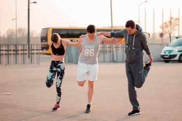FOTO: Sporta diena Spīķeros
