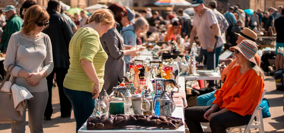 visit Spīķeri - rIGA fLEA MARKET ON May 11th