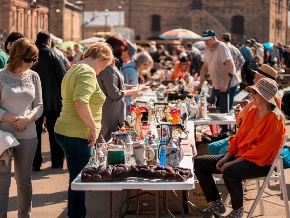 This saturday come and visit Spīķeri – Riga flea market