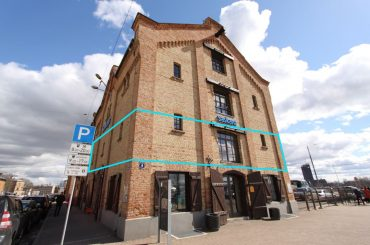 Atvērta tipa birojs nomai Spīķeru kvartālā, 168,7 m2