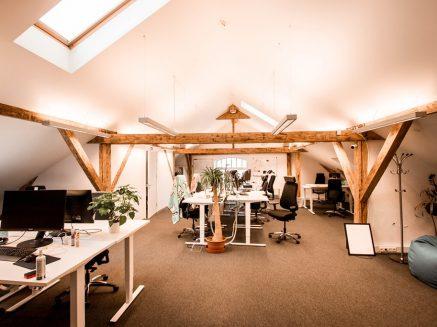 Офис открытого типа