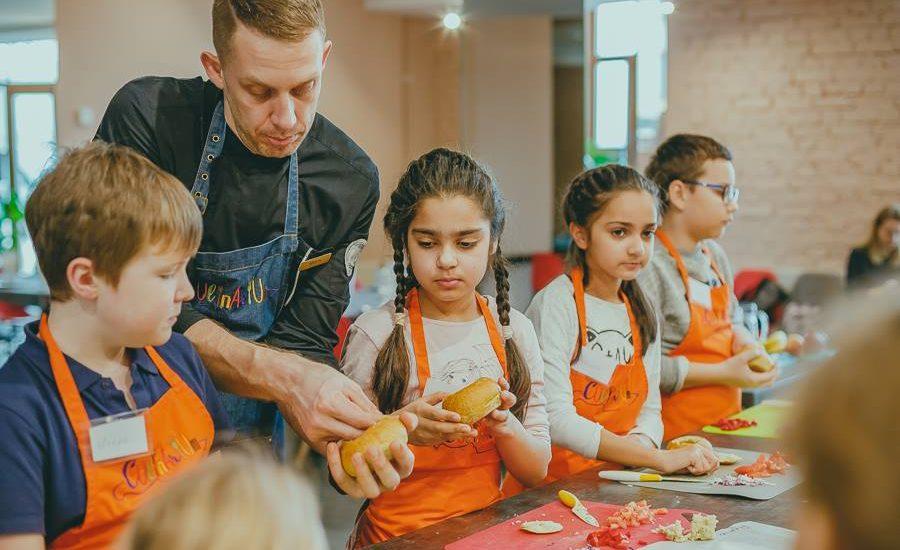 cepumu un mohito kulinārijas meistarklase bērniem