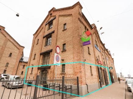 Komercdarbības telpas nomai Rīgas centrā, 167,5 m2