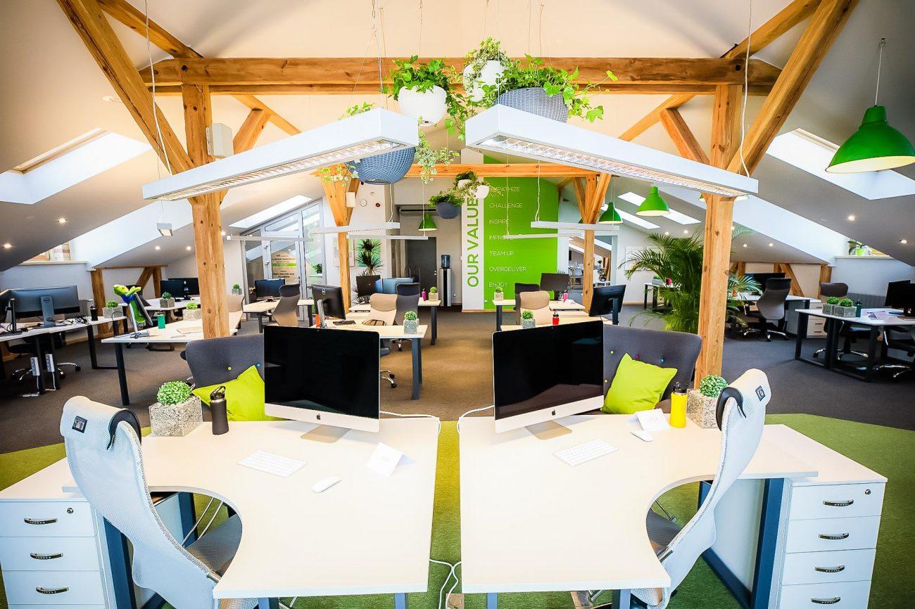 birojs telas spīķeri izīrē birojus dizaina tendences