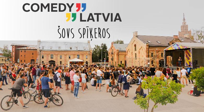 Comedy Latvia šovs Spīķeros
