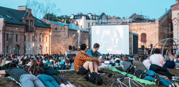 Get summer feeling in Spikeri open-air cinema evenings