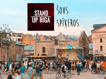 Riga Stand Up show in Spīķeri