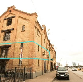 Oфисные помещения в квартале Спикери, 176,6 м2