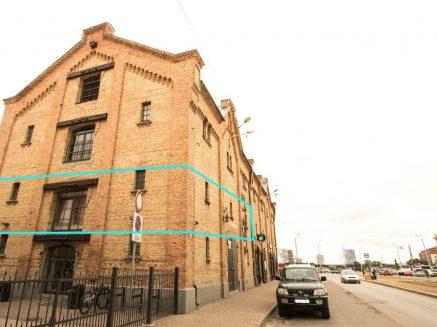 Atvērta tipa birojs nomai Spīķeru kvartālā, 176.6 m2