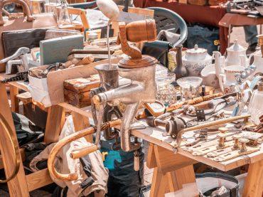 July Riga Flea Market in photos