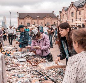 Rīgas krāmu tirgus atradumi augustā