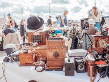 Находки на Рижском блошином рынке в сентябре