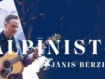 PĀRCELTS: Ģitārists JĀNIS BĒRZIŅŠ koncertprogrammā ALPĪNISTS